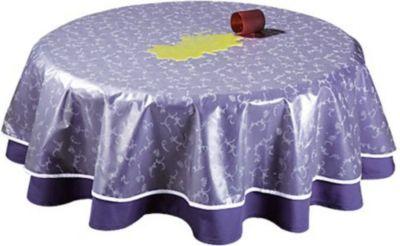 Grasekamp Tischdeckenschoner PVC Folie 160x210cm Oval