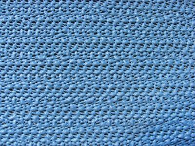 Tischdecke aus Schaumstoff 130x180cm oval grau/blau
