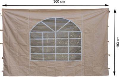 Grasekamp 2 Seitenteile 300x193cm zu Sahara 3x3m
