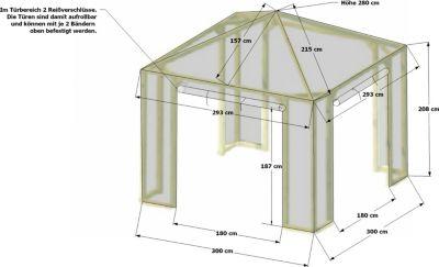 Schutzhaube zu Pavillon Lindgren - Medium