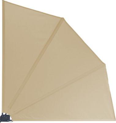 Sichtschutz Fächer Premium 140x140cm - Sand