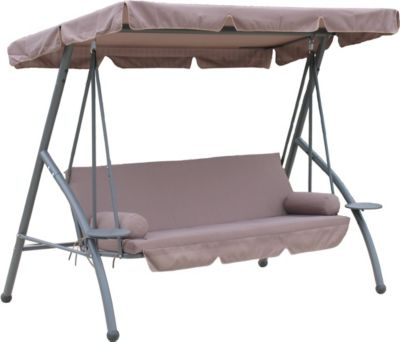 Hollywoodschaukel Triumph Taupe