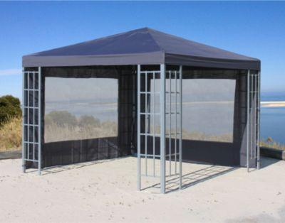 Grasekamp Aluoptik Pavillon 3x3m Anthrazit
