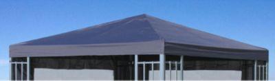 Grasekamp Ersatzdach zu Aluoptik Pavillon 3x3m Anthrazit