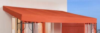 Grasekamp Ersatzdach zu Anbaupergola Romana 3×4 Meter Terra
