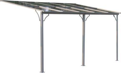 Grasekamp Terrassendach Hardtop 450x300cm Doppelstegplatten Polycarbonat