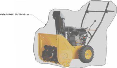 Grasekamp Abdeckplane Abdeckhaube Schutzhülle für Schneefräse Schneeräumgerät