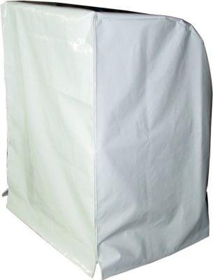 Strandkorbhülle XL Spezial - Weiß