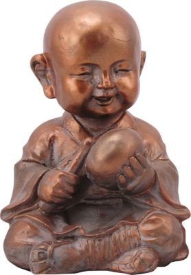 Lucky Buddha Taro Kupfer