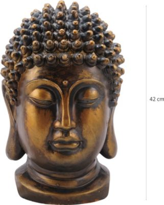 Buddha Kopf Taro Gold