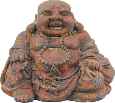 Lucky Buddha Taro Rostfarben