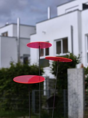 Cazador del sol 3 Sonnenfänger 20cm Durchmesser Rot