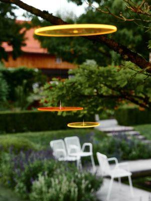 Cazador del sol 3 Sonnenfänger 15cm Durchmesser schwebend Gelb