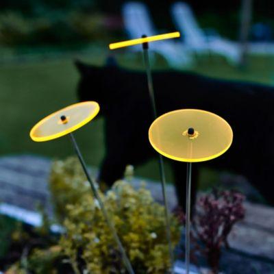 Cazador del sol Sonnenstrauß aus 3 Sonnenblumen 8cm Durchmesser Gelb