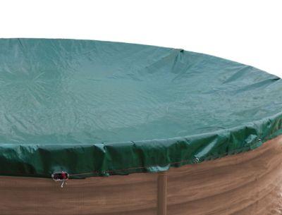 Poolabdeckung 800x400cm oval Grün   Garten > Swimmingpools > Zubehör   Polyethylen   Grasekamp