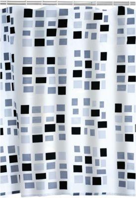 Duschvorhang Textil Stones