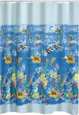 Duschvorhang Textil Reef