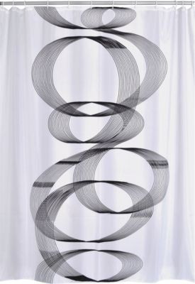 Duschvorhang Textil Loop