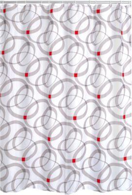 Duschvorhang Textil Chain