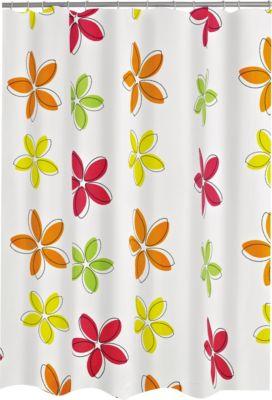 Duschvorhang Textil Fleur