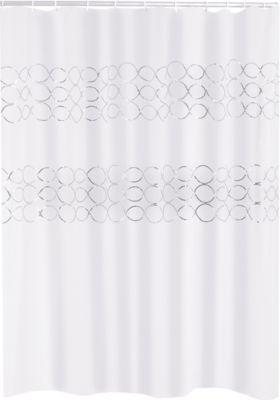 Duschvorhang Textil Paillette