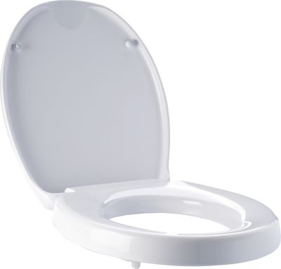 WC-Erhöhung mit Absenkautomatik