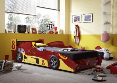 Auto - Kinderbett Rennwagenbett