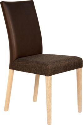 2er Set Eßzimmerstuhl Küchenstuhl Stuhl Eiche