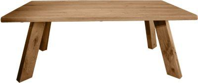 Esstisch MASSIV 200 x 100 cm Wildeiche