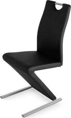 Design Freischwinger schwarz