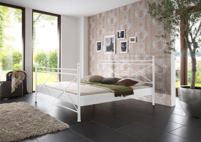 Metallbett weiß 140x200  Metallbett Weiß 140X200 Preisvergleich • Die besten Angebote ...