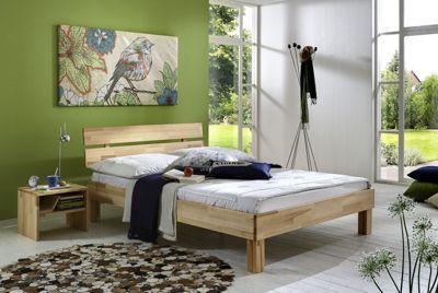 Cats Collection Massivholzbett in Kernbuche geölt 180 x 200 cm