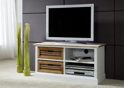 TV Board Lowboard weiß 102cm