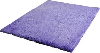 Langflor Teppich Shaggy violett