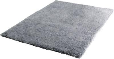 Langflor Teppich Shaggy grau