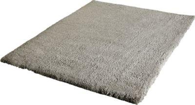 Langflor Teppich Shaggy graubraun