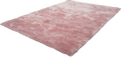 Langflor Teppich Shaggy zartrosa