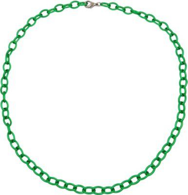 Kette, Anker oval, 7mm, grün-matt