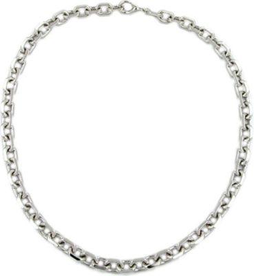 Kette, Anker, diamantiert rhodiniert