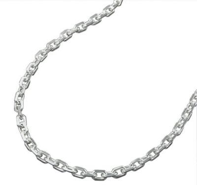 Kette, Anker 8x diamantiert, Silber 925