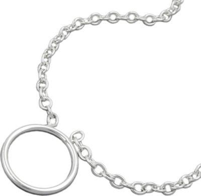 Kette Anker Charmeinhänger Silber 925