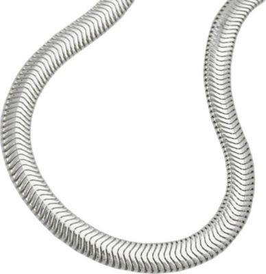 Cats Collection Kette, Schlange flach, Silber 925