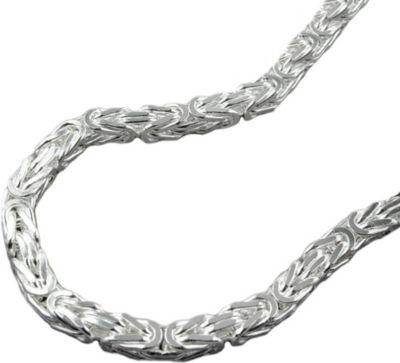 Armband, 3mm Königskette, Silber 925
