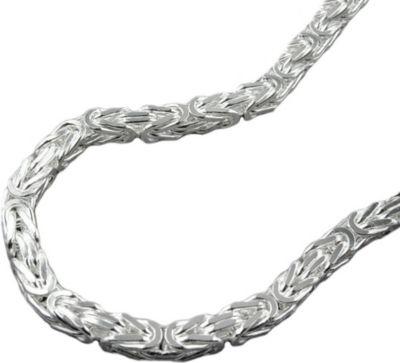 Kette Königskette 3mm Silber 925 50cm