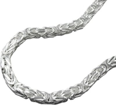 Kette Königskette 4mm Silber 925 60cm