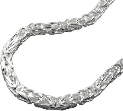 Armband Königskette 5mm Silber 925 21cm
