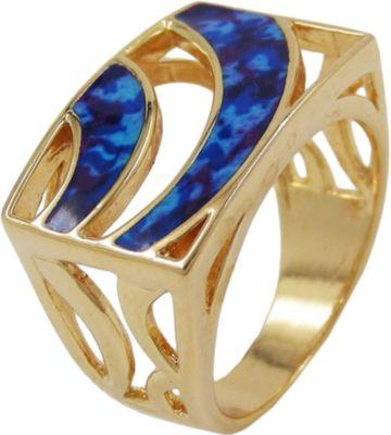 goldener ring blauer stein preisvergleich die besten angebote online kaufen. Black Bedroom Furniture Sets. Home Design Ideas