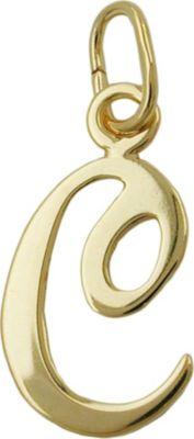 Anhänger Halskettenanhänger Buchstabe C 8Kt GOLD