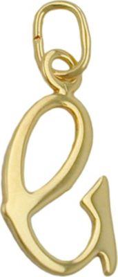 Anhänger Halskettenanhänger Buchstabe G 8Kt GOLD