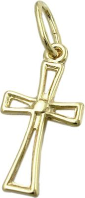 Anhänger Halskettenanhänger Kreuz 8Kt GOLD